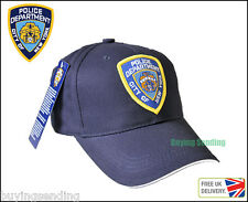 BRAND NEW YORK CITY LICENSED NAVY BLUE NYPD POLICE DEPARTMENT CAP CLOTHING HAT