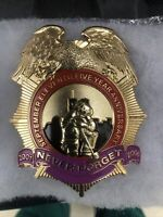 antique Septeber 11th Five Yr. Anniversary Generic Fire Department  Badge