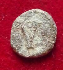 Justinian I. 527-565. Æ Pentanummium Imitative (Sicilian?) large V in wreath