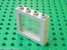 Fenetre LEGO TRAIN OldGray window ref 4033 + glass 4034 / Metroliner 4558 4547