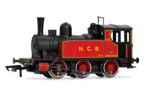 Electrotren HES2000 National Coal Board Red Livery 0-6-0 - HO