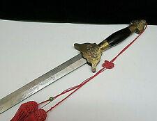 Vintage Brass & Steel Samari Sword