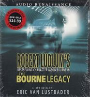 The Bourne Legacy Eric Van Lustbader 5CD Audio Book NEW Robert Ludlum Jason