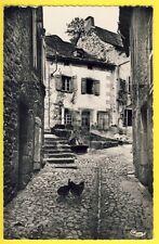 cpsm 15 - CHAUDES AIGUES vers 1950 (Cantal) FONTAINE d'EAU CHAUDE SOURCE du PAR