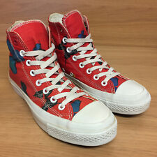 Converse Damien Hirst Red All Star Butterfly Limited Edition Trainers UK 7 EU 40