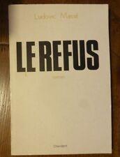 Rare roman LE REFUS de LUDOVIC MASSE 1985 PERPIGNAN CATALOGNE CATALAN chiendent