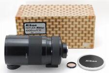 【NEAR MINT IN BOX RARE!】 Nikon Reflex Nikkor 1000mm F/11 Single Focus From Japan