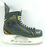Bauer Supreme ONE.6 Tuuk Ice Hockey Skates Size 12.5 US Black & Gold