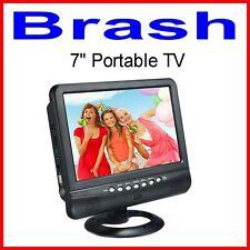 PORTABLE 7inch SLIM ANALOGUE TV  - PAL / NTSC / SECAM  with SD & USB  + REMOTE