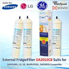 3Pack REFRIGERATOR EXTERNAL WATER FILTER GENERAL ELECTRIC GENERIC DA2010CBWF