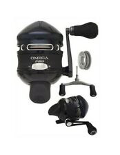 Zebco Omega Pro Professional 7BB Spincast Reel With Alternate Handle Z03PRO New