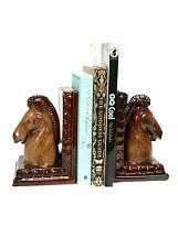 Ceramic Bookends - Horses