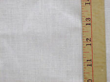 Fabric Woven Linen Light Weight White Multi Purpose Crafts Clothing Apparel
