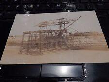 antique postcard  walking iron man whitby