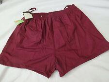 Branded Lion Mens Shorts Small Maroon Vintage Short Shorts Swim Trunks Suit