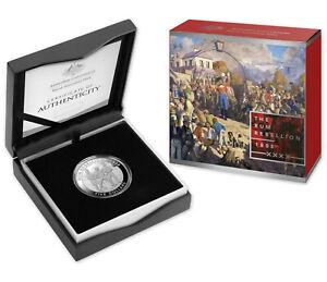 2019 $5 The Rum Rebellion 1oz Fine Silver Proof Coin - Mutiny and Rebellion