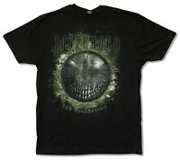 "DISTURBED ""ALL SMILES"" BLACK T-SHIRT NEW OFFICIAL ADULT MUSIC BAND"