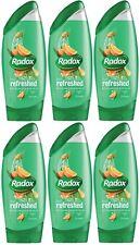 6 x 250ml Radox - Feel Refreshed with Eucalyptus & Citrus Oil Shower Gel