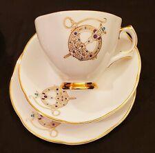 Vintage Royal Tara Brooch Celtic Masterpiece Tea Set for 6 Ireland- 21 Pieces