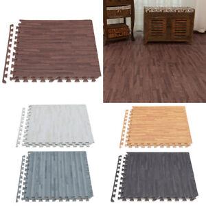 Large EVA Foam Play Mats 4/8pcs Interlocking Exercise Yoga Puzzle Flooring Tiles