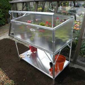 Modular Cold Frame complete with Two Tier Bench
