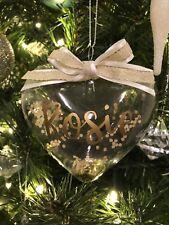 Personalizado Navidad Baubles
