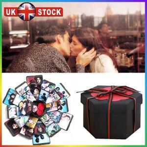 Surprise Explosion Box DIY Photo Album for Birthday Anniversary Love Memory Gift