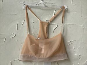 New🏷 Size S Stella McCartney Bralette  nude RRP £65 Designer 👩🎨