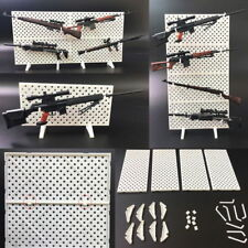 1/6 Scale Weapons Display Wall Show Storage Stand For Modular Gun Rack Models