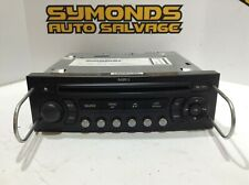 🚗2007 CITROEN C4 P/N 9662925877 - Tuner Head Unit Car Stereo CD PLAYER 🚗