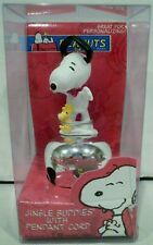 Roman Peanuts Snoopy and Woodstock Jingle Buddies with Pendant Cord