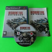 PS2 - Resident Evil Outbreak (Playstation PAL) - FAST FREE UK POST