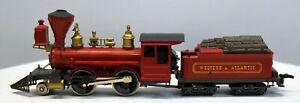 RIVAROSSI HO Scale WESTERN & ATLANTIC 2-4-0 Steam Locomotive w/Tender