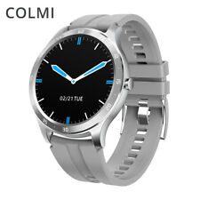 Waterproof SMART WATCH Colmi S20 Fitness Tracker Heart Rate iOS Android Silver