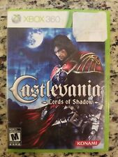 xbox 360 Castlevania Lord of Shadow NO MANUAL 2 DISC FREE S/H USED