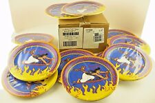 "Paper Plates 7"" Disney Aladdin Birthday Party Cake 12 Pack Case 96 NOS 1992 Vitg"