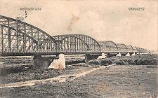 Graudenz / Grudziądz  Weichselbrücke Postkarte 1913
