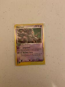 Dusclops 4/100 Reverse Holo - EX Sandstorm Pokemon Card