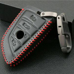 For BMW 5 Series X1 X3 X4 X5 X6 Leather Key Cover Case Key Holder Car Key Case