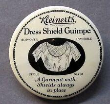 c.1910 Kleinert'S Dress Shield Guimpe advertising celluloid pocket mirror *