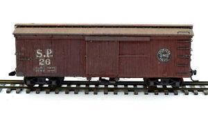 HOn3 Wooden Southern Pacific Box Car #26 w/Trucks & Kadee's