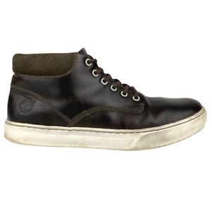 Timberland Mens Chukka Boots Adventure 2.0 Cupsole Brown Leather A1JPX Sz US 10