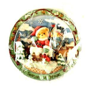 Cherished Teddies Enesco Season of Magic 1998 Decorative Collector Plate