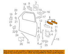 FORD OEM 06-11 Crown Victoria-Outside Exterior Door Handle Right 6W7Z5422404DB
