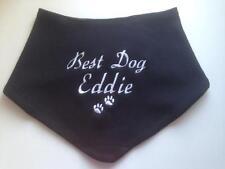PERSONALISED DOG WEDDING BANDANA RING BEARER/BEST DOG / BRIDESMAID EMBROIDERED