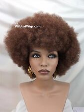 Quality Unisex AFRO L WIG .. Free Pick! ..   NOT JUNK!  27/33 Strawberry/Auburn*