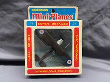 Vtg Bachmann Mini-Planes Bristol F2B Fighter 06 8406 In Box Made In Hong Kong
