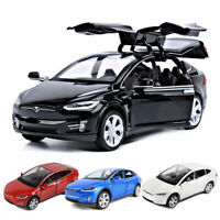 Tesla Model X 90D SUV 1:32 Scale Car Model Diecast Gift Toy Vehicle Collection