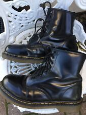 Doc Martens 1460 Smooth Black Leather 8 Hole Unisex Boots Uk6/39