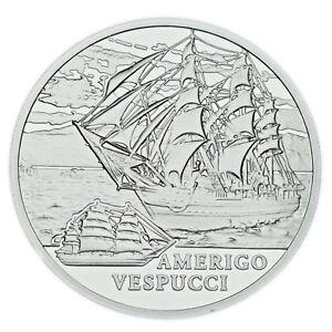 2010 Belarus 20 Rubles Coin The Amerigo Vespucci (Proof) KM# 272